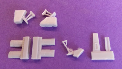Rebel X-Type Fighter Landing Gear Set picture 2