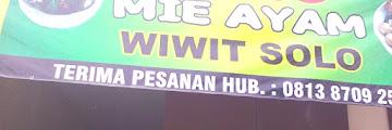 Mie Ayam Dan Bakso Wiwit Solo Di Bekasi Timur