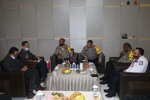 Berantas Korupsi Di Kalteng, Polda Kalteng Lakukan Audiensi Dan Kordinasi Dengan KPK