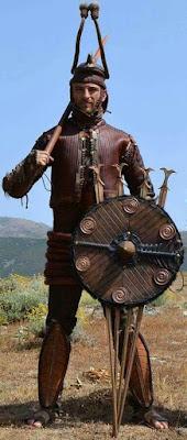 Nuragic Warrior, Guerriero nuragico