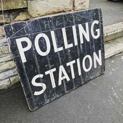 Poling Station vote #india