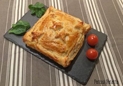 recette festive, feuilletés, pommes, foie gras, cuisiner du foie gras