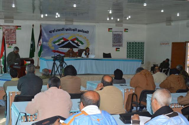 افتتاح اشغال الدورة الخريفية للمجلس الوطني الصحراوي