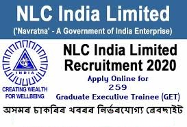 Neyveli Lignite Corporation Ltd (NLC) Recruitment for Graduate Executive Trainee posts Apply Online@nlcindia.com /2020/03/NLC-Recruitment-for-Graduate-Executive-Trainee-posts-Apply-Online-nlcindia.com.html