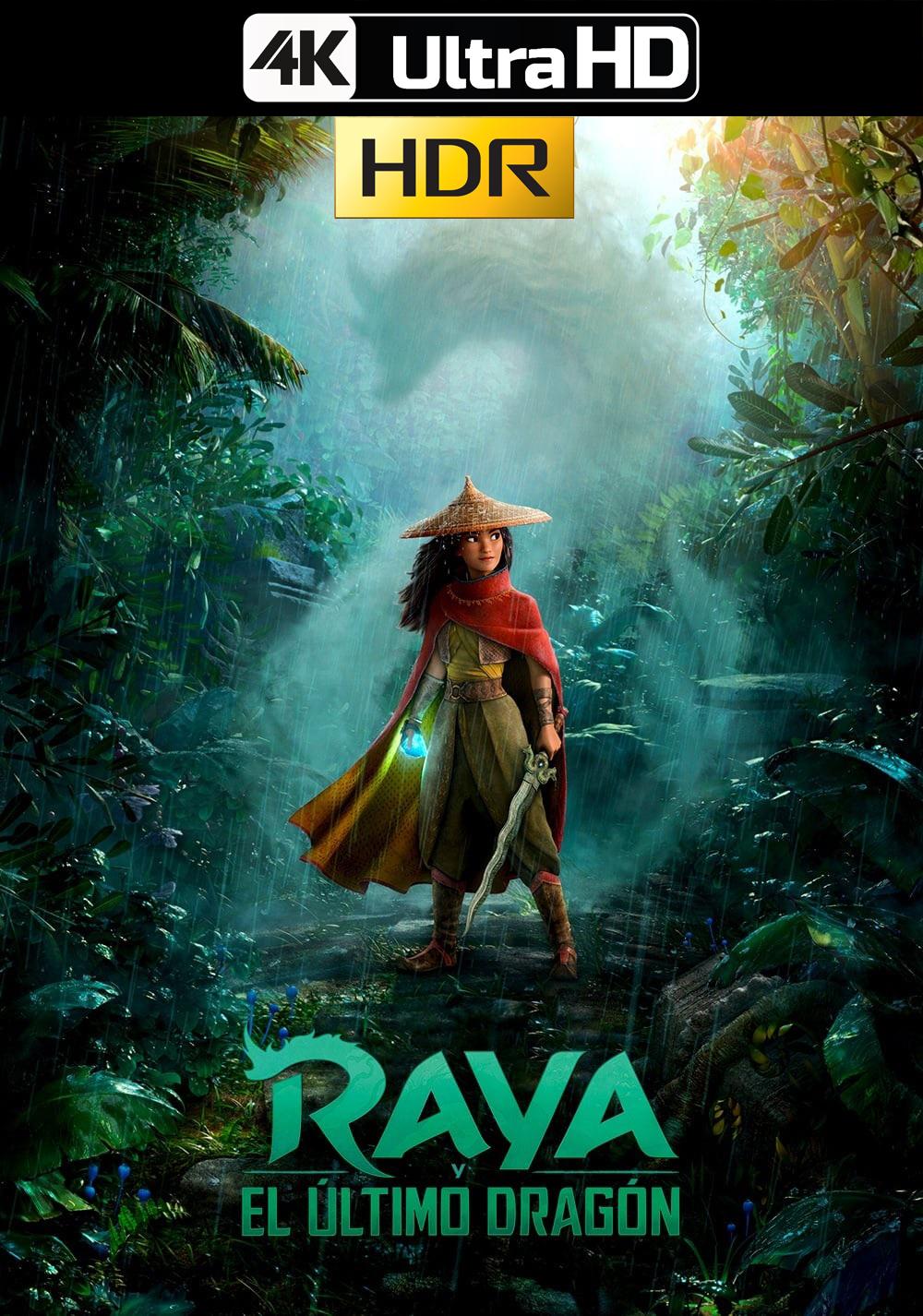 Raya y el último dragón (2021) D+ 4k WEB-DL 2160p Latino