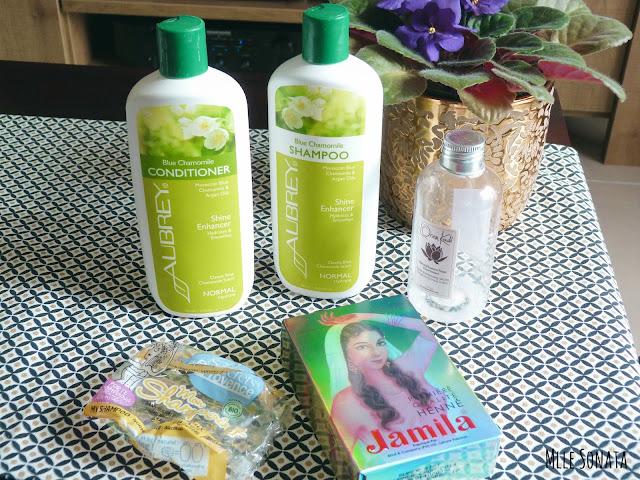 5 produits terminés soins cheveux