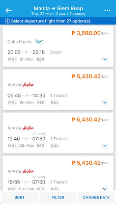 Cheap Flights from Manila to Siem Reap