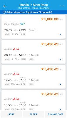 Cheap Flights from Manila to Siem Reap