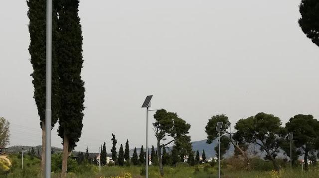 Εκσυγχρονίζεται ο ηλεκτροφωτισμός στο Πάρκο «Αντώνης Τρίτσης», με χρηματοδότηση της Περιφέρειας Αττικής