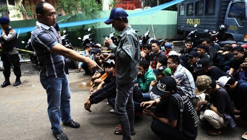 Puluhan orang diamankan terkait kericuhan di kampus Trisakti