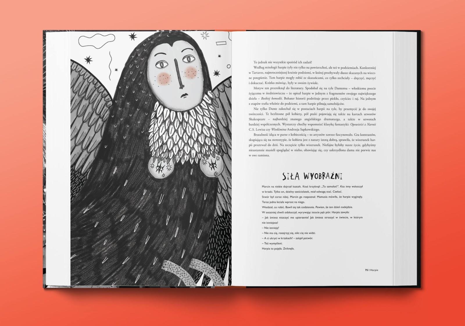 książka dla dzieci o potworach