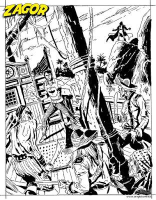 Zagor #615:: Zenith 666 (prova cover 6, Alessandro Piccinelli)