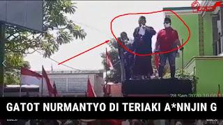 Panglima Gatot Nurmantyo Diteriaki Anj*ng, Warganet: Fix, Pendemonya PKI