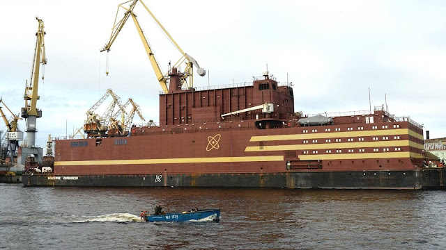 Why environmentalists objected to Russia's first floating nuclear reactor