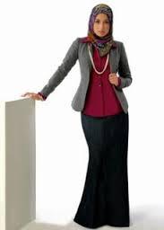 Model Busana Batik Remaja Muslimah Terbaru