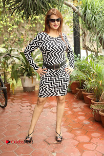 Actress Saloni Latest Pos in Short Dress  0269.JPG