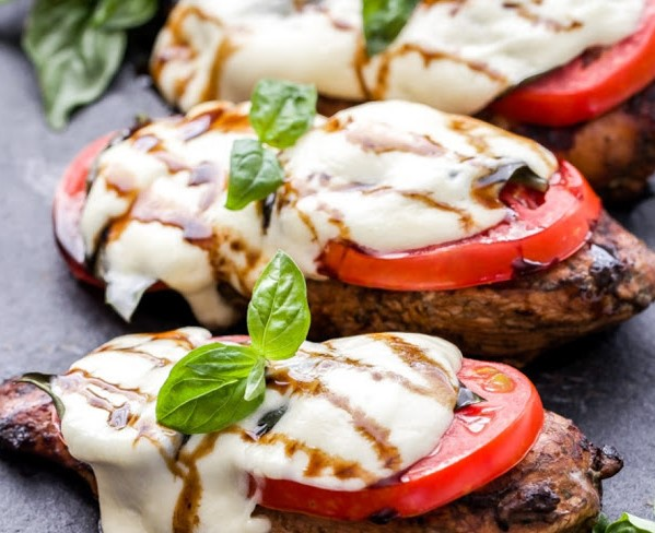 CAPRESE BALSAMIC GRILLED CHICKEN RECIPE