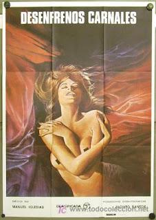 Desenfrenos carnales (1982) Drama erotico con Roxana Caskan