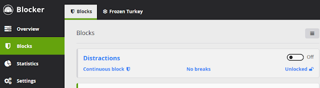 cold turkey blocker