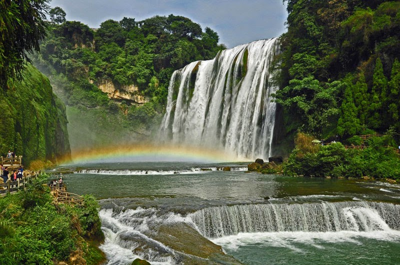 1. Huangguoshu, China - 7 Waterfalls That Will Take Your Breath Away