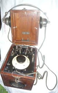 Radioricevitore a galena e carborundo - Marconi Genova
