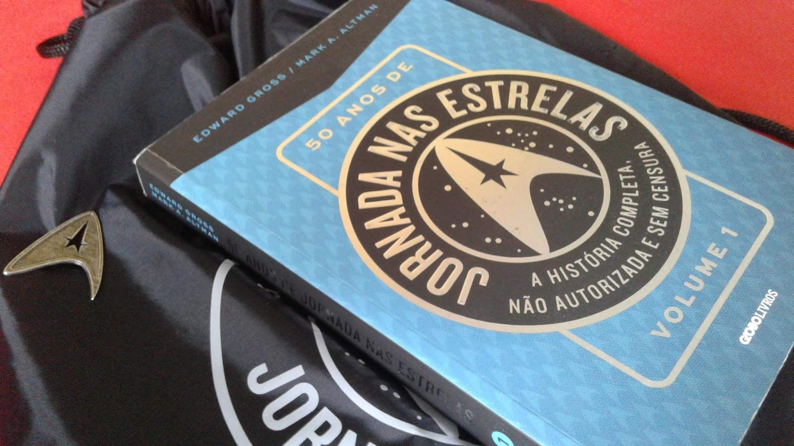 ea40893ed LIVROS  RESENHA - 50 ANOS DE JORNADA NAS ESTRELAS