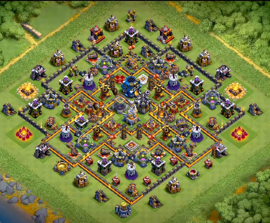 best th11 farming base