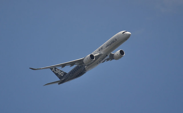 Gambar Pesawat Airbus A350 06