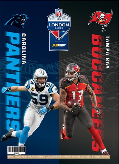 NFL London Games 2019 programme