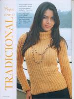 Blusas femininas de crochê com PAP em Português