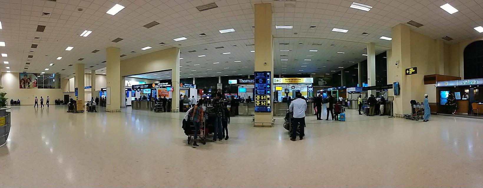 Bandaranaike-international-airport-in-Colombo