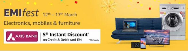 Amazon EMIfest | Amazon Promo Code India