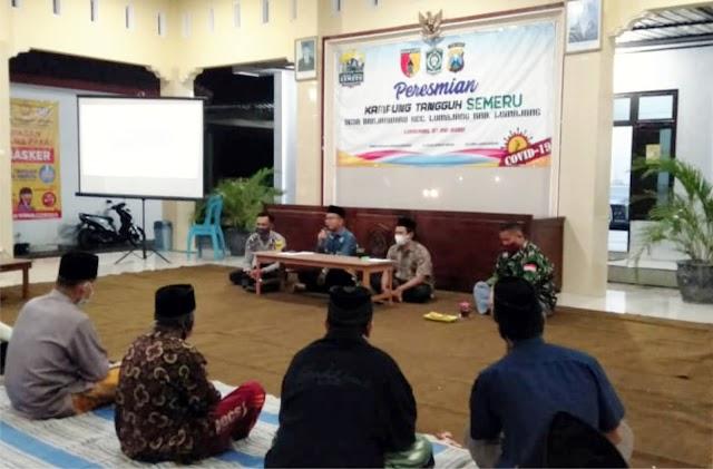 Penyerahan Honor RT RW, Kades Singgung SDG's