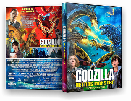 DVD Godzilla II – Rei dos Monstros - ISO