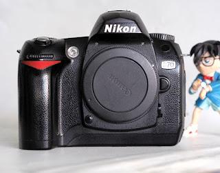 Jual Nikon D70 Bekas