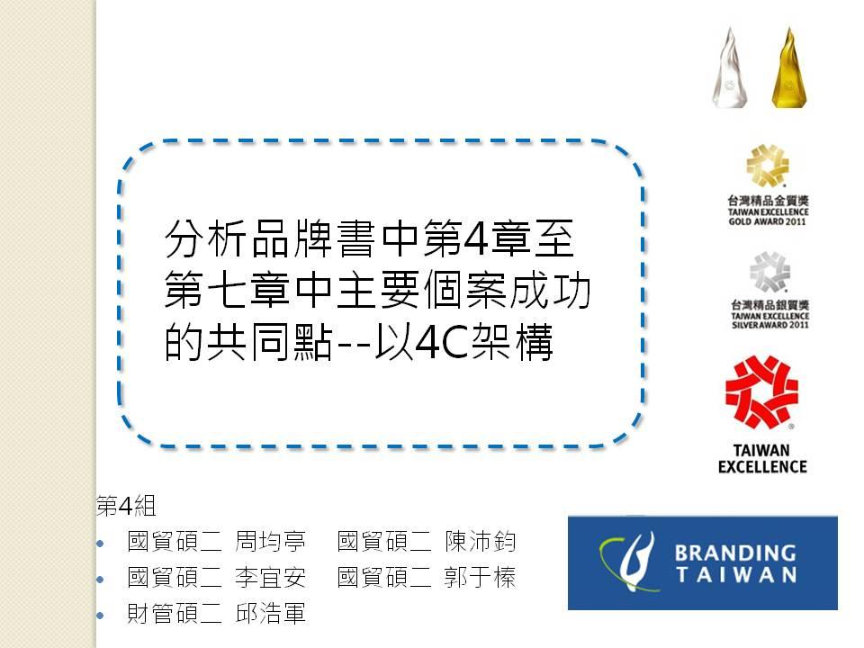 策略行銷分析4C架構新知網站 (4C Framework of Strategic Marketing Analysis): 滾動吧!品牌TW 摘要