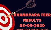 Khanapara Teer Results Today-03-03-2020