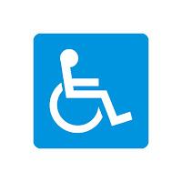 Símbolo de acessibilidade - Deficiência Física