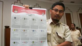 Contoh Surat Suara Pemilu 2014 - JPPR Pantau Pemilu 2014