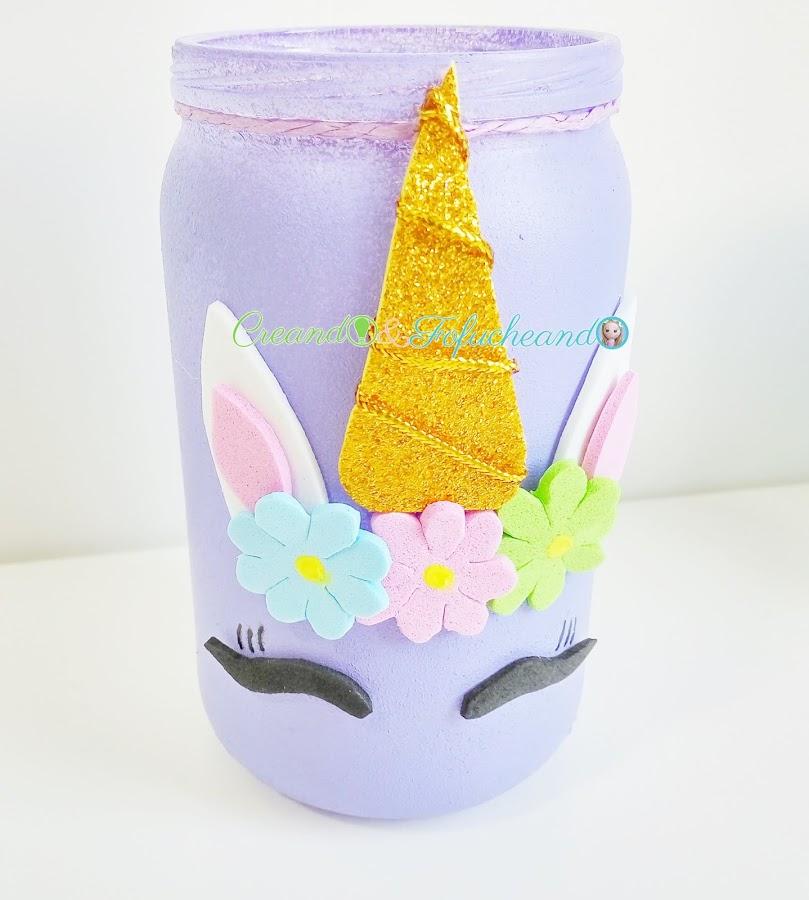 Frasco-unicornio-3-ideas-para-decorar-frascos-de-cristal-creandoyfofucheando