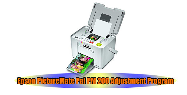 Epson PictureMate Pal PM 200 Printer Adjustment Program