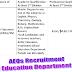 AEO Jobs 2016 through NTS School Education Department Punjab