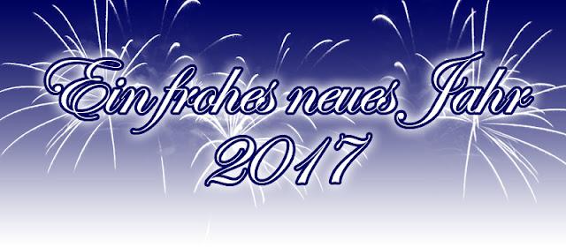 Ich wünsche euch ein frohes neues Jahr 2017!