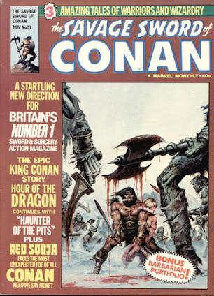 Savage Sword of Conan #37