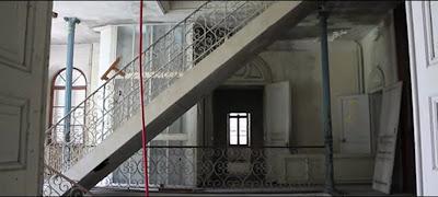La maison abandonnée de Thônes qui sert de lieu de tournage