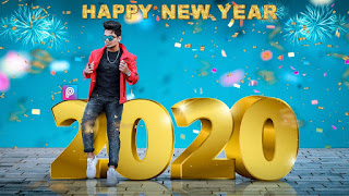 Happy New Year 2020 Photo Editing Background And Png Download | kreditings - happy new year 2020 photo