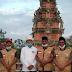 Merajut Kebhinnekaan dan Kebersamaan,PB GNP Covid 19 Sambangi Pura Agung Jagatnatha