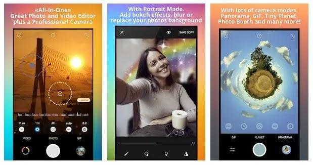 Pixtica - Aplikasi Kamera + Editor Foto Terbaik