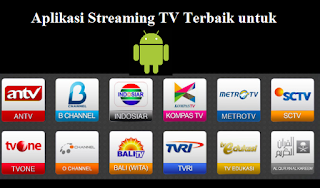 Download Aplikasi TV Streaming Online Android Terbaik dan Ringan 2017
