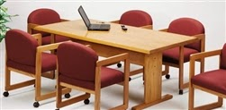 Lesro Contemporary Series Conference Table